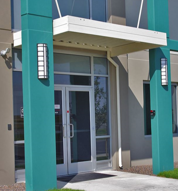 Suspended Door Awnings - commercial awnings for your business