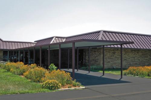 Flat Roof Walkway Covers